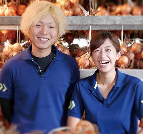 タマネギ農家 小川 貴茂&美穂