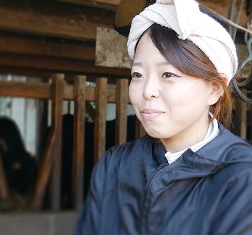 畜産農家 永田 愛莉
